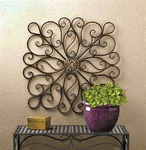 Iron Wall Decor by Wrought Iron Wall Decor Accent Your Home Decor