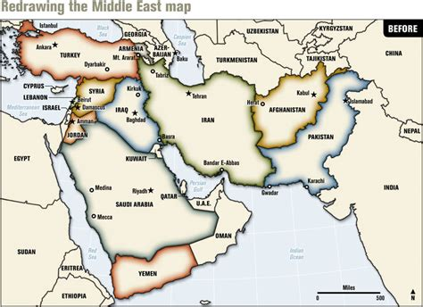 middle east map ethnic blood borders how a better middle east would look by