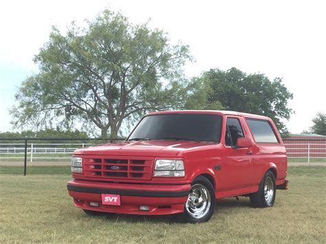 Ford Lighting by The Ford Lightning Bronco Of Your Dreams Is Up For Sale