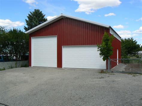 Sheds Spokane by Finished Pole Buildingsbulldog Contractors