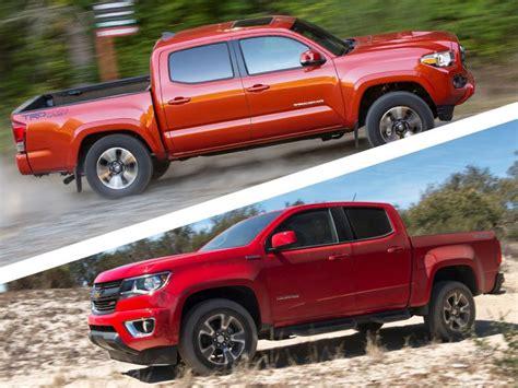 Chevrolet Colorado Vs Toyota Tacoma 2017 Toyota Tacoma Road Test And Review Autobytel