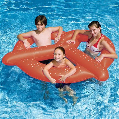 Swimline giant pretzel pool float inflatable floats