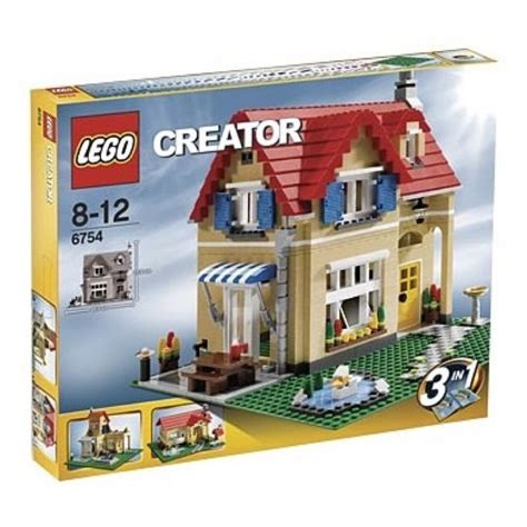 Lego Home by Lego Creator Sets 6754 Family Home New
