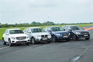 Mercedes Glk Vs Bmw X3 Vs Audi Q5 Test Comparativ Mercedes Glc Vs Audi Q5 Bmw X3