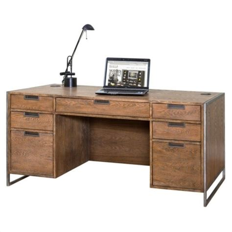 kathy ireland home by martin belmont executive desk in