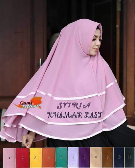 Khimar List by Khimar Syiria List Rie