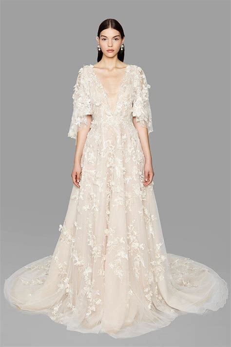Wedding Dresses 2017 by Marchesa Fall 2017 Wedding Dresses Weddingbells