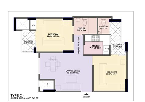Home Design Plans 2 Bhk | 2bhk home design in with kerala and floor trends picture