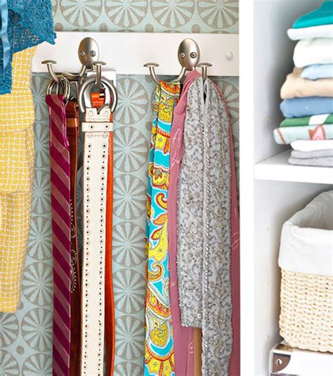 How To Organize Belts In A Closet by 10 Tips For Organizing Your Closet The Decorating Files