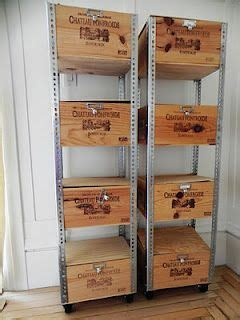 Wine Box Shelf by 25 Best Wine Boxes Ideas On Crates On Wall
