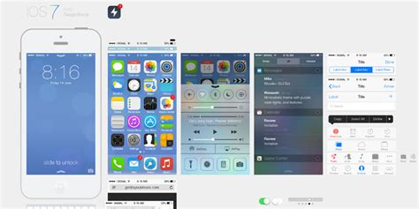 Free Home Design Software For Iphone Ios 7 Iphone Ui Psd For Free W3update
