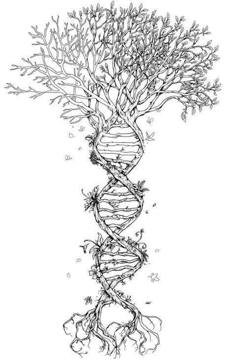 dna tree tattoo awakening our truthspiritual tattoos awakening our