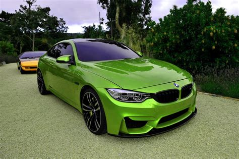 green bmw m4 your rainbow collection of bmw m4 photos is here