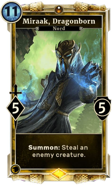 elder scrolls legends card template miraak dragonborn elder scrolls legends wiki wiki
