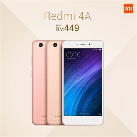 redmi 4a xiaomi redmi 4a will be available in malaysia on 18th january gadgetmtech