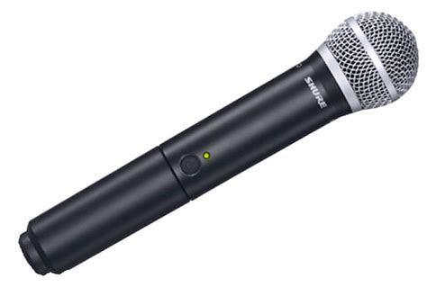 Mic Wireless Shure Blx 7c Multi Channel Handheld shure blx24 pg58 handheld wireless system w pg58 mic