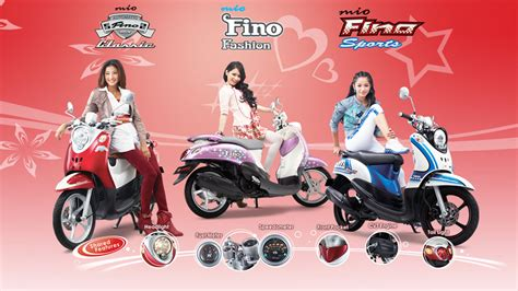 Striping Fino Fhasion waw s land yamaha fino indonesia launching aka quot yamaha