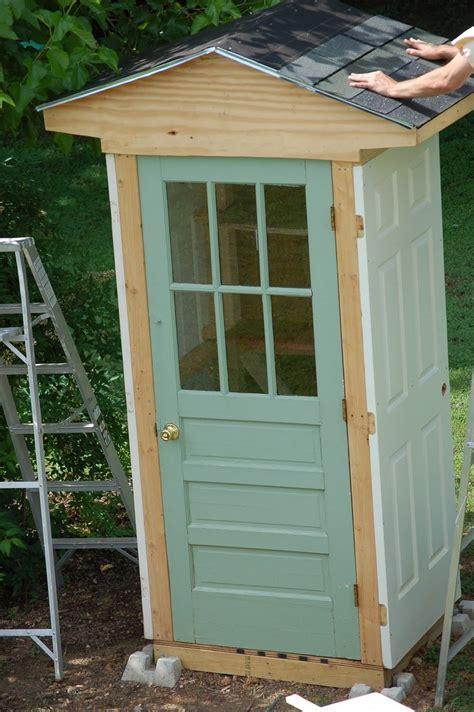 diy  door shed  owner builder network