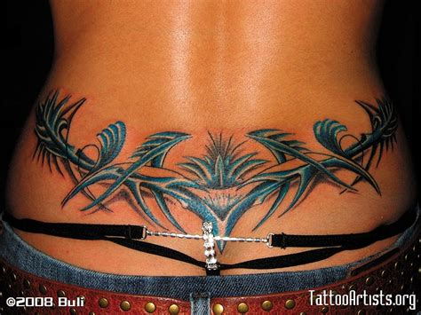 tattoos on lower back lower back models picture