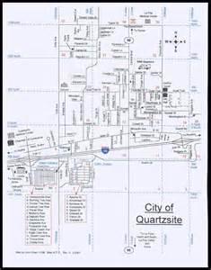 quartzsite arizona map index of phots