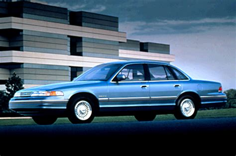 1992 ford crown 1992 07 ford crown consumer guide auto