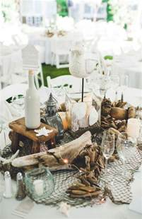 Nautical Table Decor by 55 Ways To Get A Nautical On Your Wedding Day