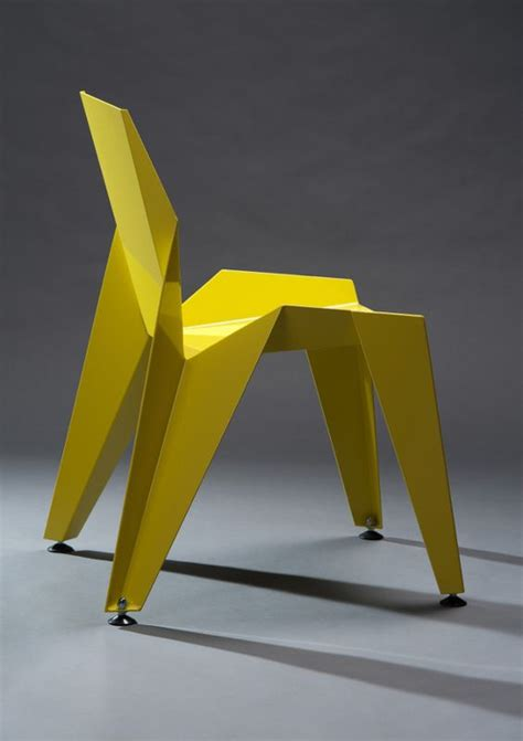 Chaise En Origami by Edge Chair By Novague Inspired By Origami Origami