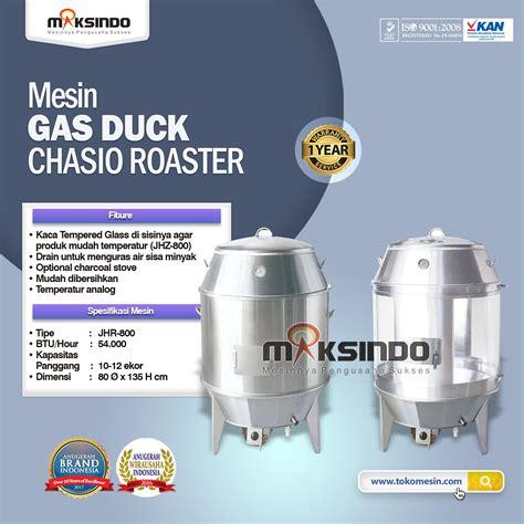 Getra Jhr 800 Gas Duck Chasio Roaster Alat Pemanggang Ayam Bebek jual gas duck chasio roaster di surabaya toko mesin
