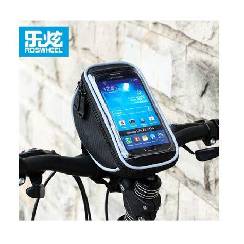 Special Roswheel Bike Waterproof Bag 4 8 Inch Smartphone Tas Hp Sepeda roswheel cycling bike bicycle handlebar bags front top