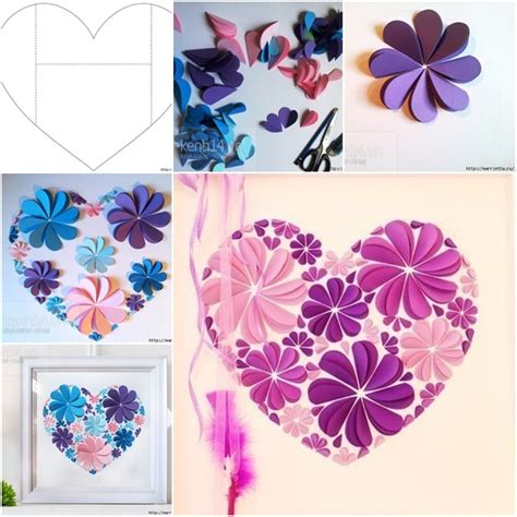 How To Make Paper Flower Wall Decorations - how to make easy paper flower wall