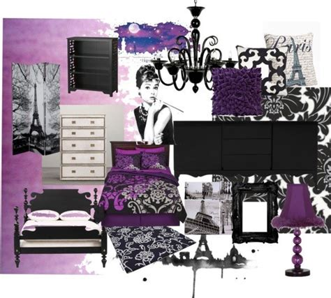 purple paris themed bedroom modern paris room decor ideas