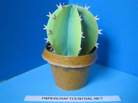 Cactus Papercraft - employee appreciation paper cactus scrappy books