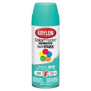 walmart spray paint colors colormaster indoor outdoor aerosol paint 12oz satin sea