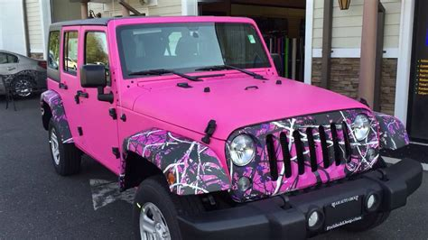 jeep matte pink the pink jeep
