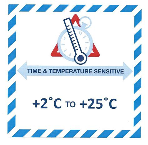 handling label mmxmm time temperature sensitive