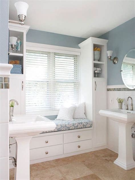 built in window bench 25 bathroom bench and stool ideas for serene seated