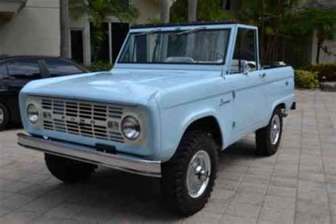 ford bronco august  build date    earliest  exist