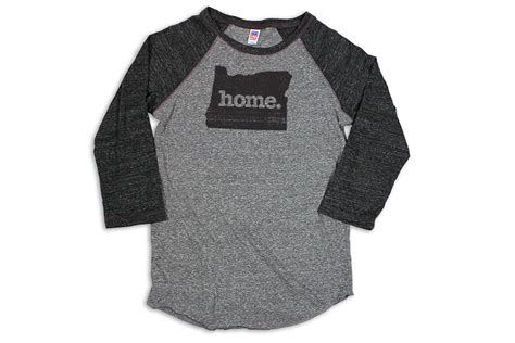 home baseball raglans choose your state home state