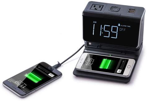 Alarm X One kube essentials multi device charging alarm clock