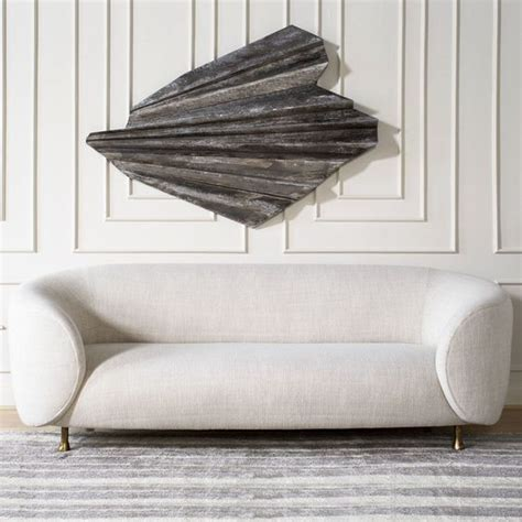 kelly wearstler sofa kelly wearstler lucien sofa clean and tailored sofa
