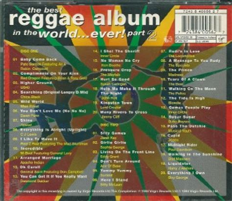 Cd Reggae Best Sellers the best reggae album in the world part 2 cd album