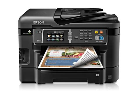 Printer Epson All In One Infus epson workforce wf 3640 all in one printer inkjet
