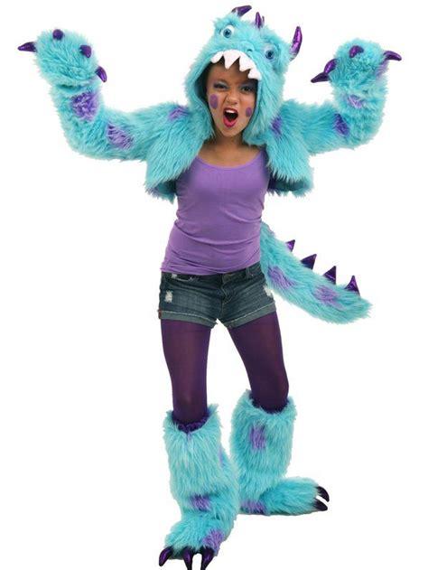 womens gizmo monster costume tween sullivan sully the monster costume monsters inc