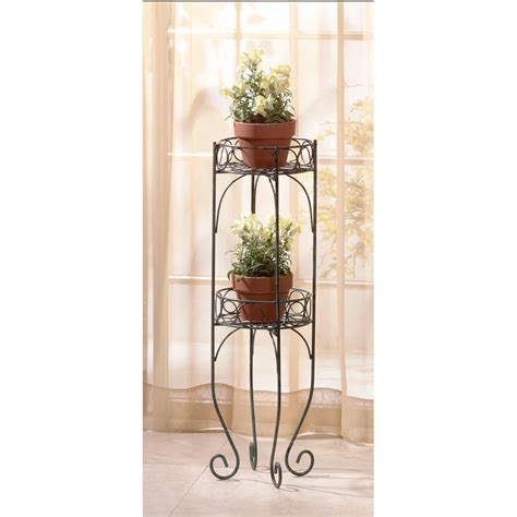 decorative plants stands tall plant stand two tier decorative metal house plant
