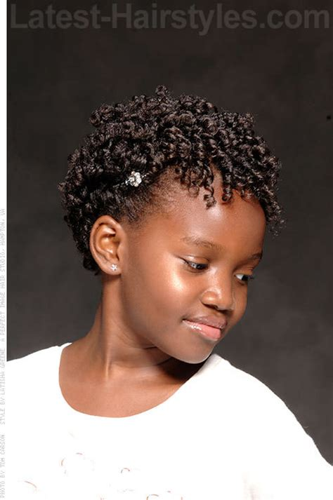 permanent curls for black hair curly kids hairstyle hairspiration pinterest kid