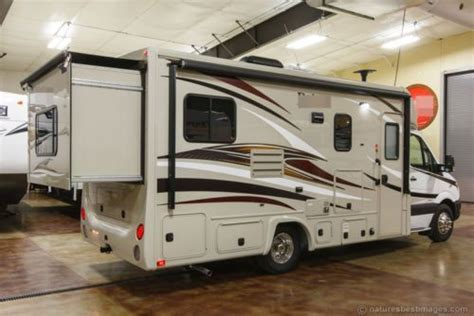 Class C Diesel Rv With Bunk Beds New 2015 24g Class C Diesel Motorhome Slide Out Rear Bed Mercedes Chassis