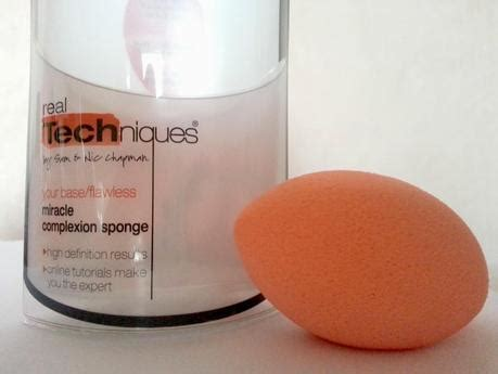 Blender Real Techniques review real techniques miracle complexion sponge vs
