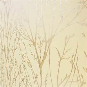 Tree Stickers For Walls i love wallpaper shimmer wallpaper metallic gold cream