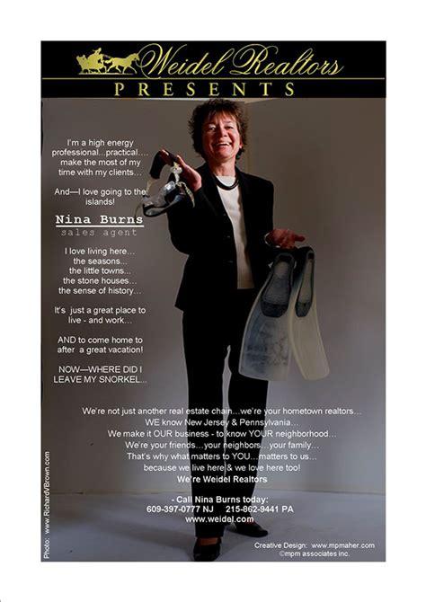 weidel real estate agent magazine ads on behance