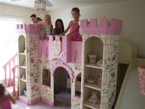 castle bed for little girl beautiful girls princess room princess castle bed youtube